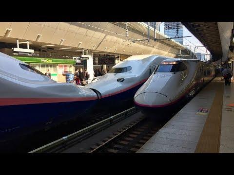Япония - Станция Токио. Синкансэн в Нагано  🚄