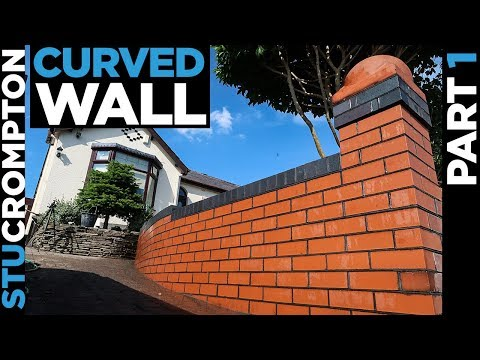 Bricklaying - Curved