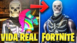 FORTNITE SKIN IN REAL LIFE! - TheGrefg