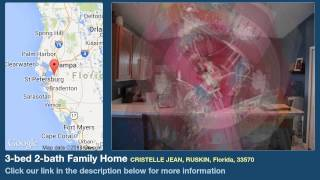 3-bed 2-bath Family Home for Sale in Ruskin, Florida on florida-magic.com