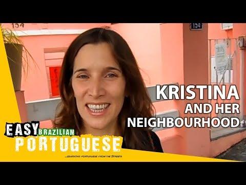 Học tiếng Bồ Đào Nha cùng cô Kristina- Bài 1