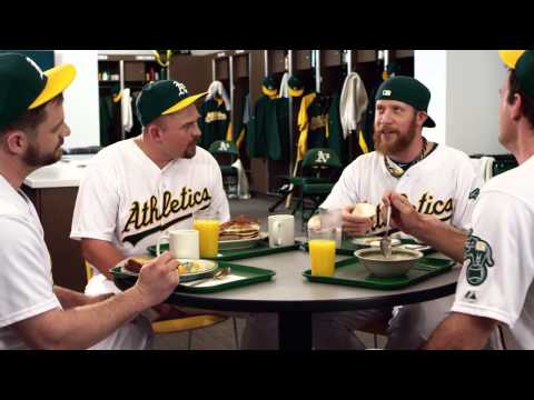Oakland A's country breakfast possumTV