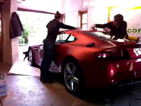 Aston Martin Vantage Vinyl Wrap Youtube