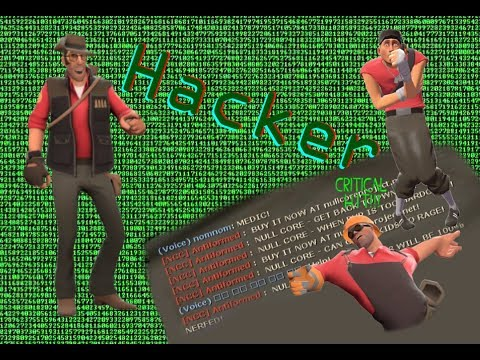 Dealing with 5 hackers | Team Fortress 2