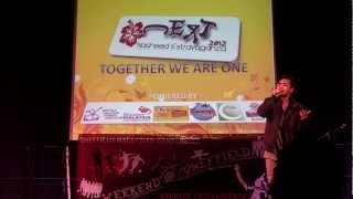 Highlights of Nasheed Extravaganza 2012 Hafiz Hamidun Nur Kasih