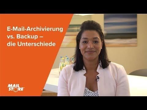 E-Mail-Archivierung vs. Backup – die Unterschiede