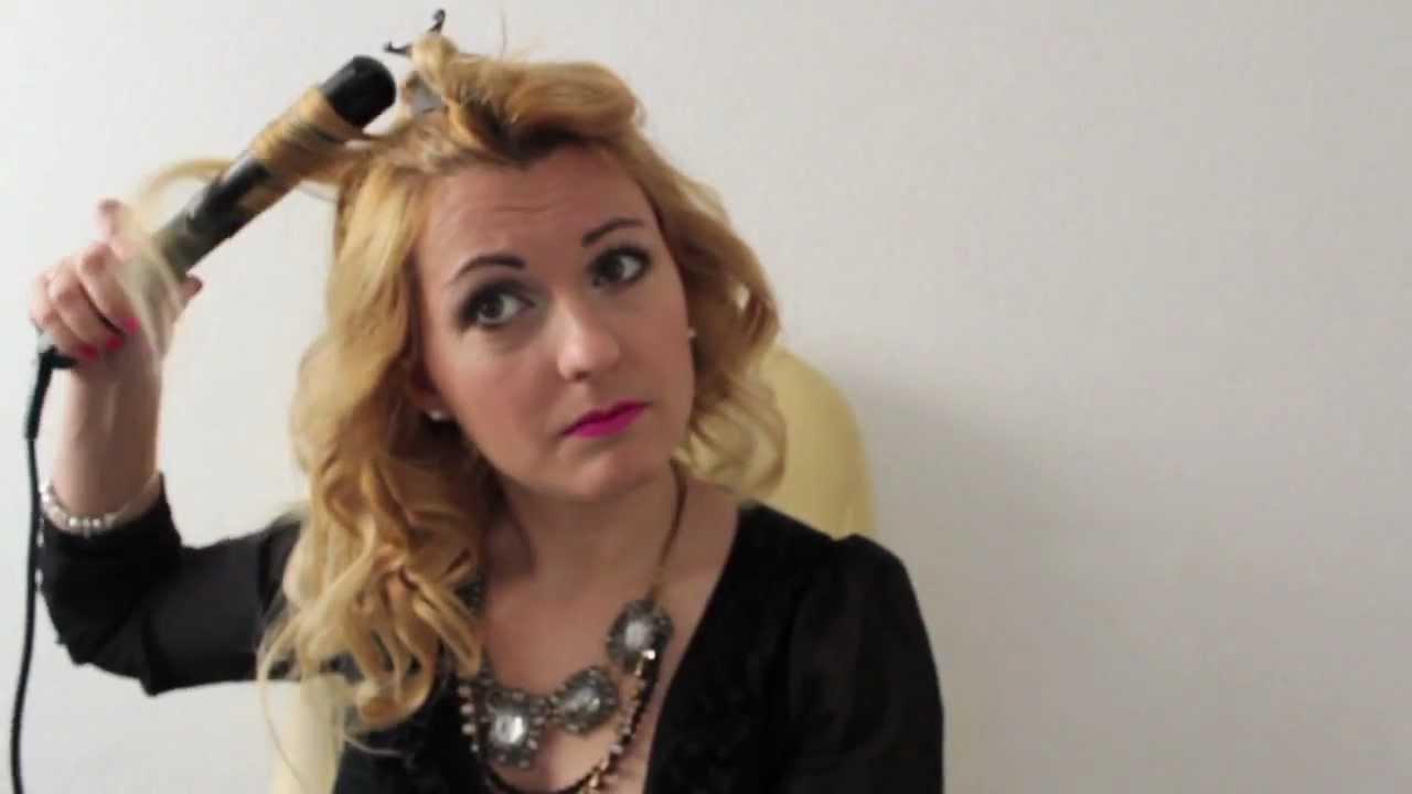 rizos con tenacillas revolv it maquillalia youtube - Peinados Con Tenacillas