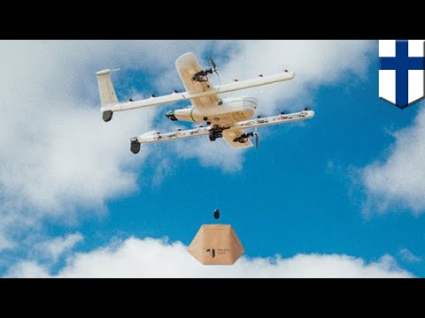 Drone delivery will be available in Finland by 2019 - TomoNe