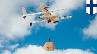 Drone delivery will be available in Finland by 2019 - TomoNews