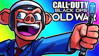 Black Ops Cold War Zombies - Easter Egg Run with Future Googling Man! (Funny Moments)