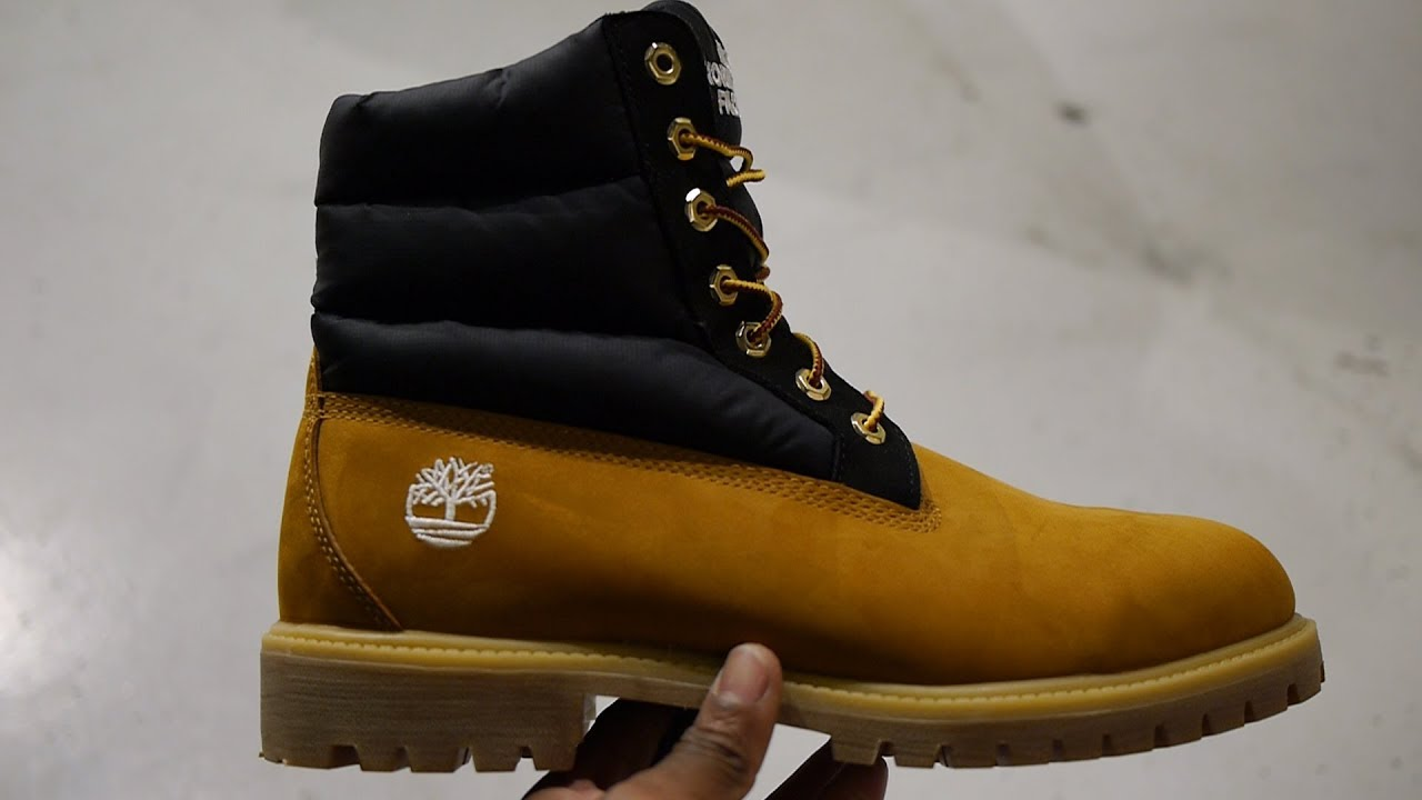 d8172d44803 Timberland x The North Face 6 Inch Premium Puffa Boots Unboxing & Quick Look