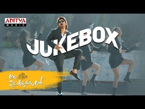 #alavaikunthapurramloo Full Songs Jukebox  Allu Arjun  Trivikram  Thaman S  #aa19