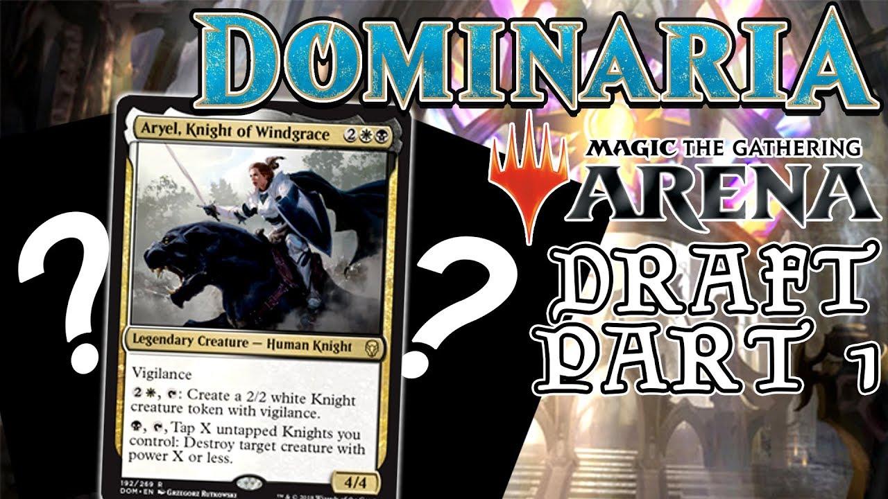 Mtga Drafting Dominaria Bw Knights Ep 1 Youtube