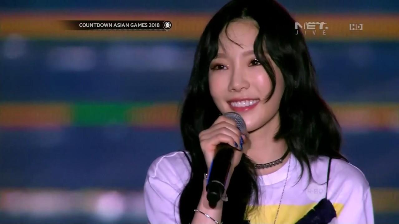 maxresdefault - Taeyeon Asian Games 2018