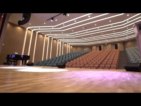 AV Design & Installation For Auditorium At Dubai Heights Academy.