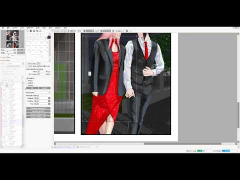 HOW To Add Glitter Texture In Paint Tool SAI 2 - TUTORIAL