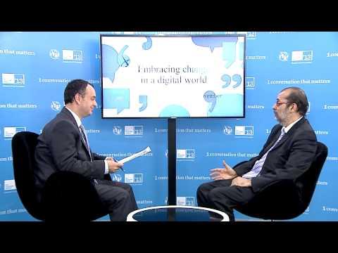 Yunus Carrim, Minister Of Communications, Cape Town - Interview, ITU Telecom World 2013