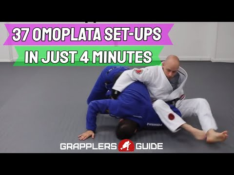 37 Omoplata Set Ups In Just 4 Min - Jason Scully / Matt Kirtley (Aesopian) - BJJ Grappling