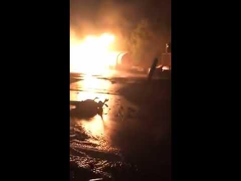 BREAKING NEWS: Gas explosion at La Trade Fair