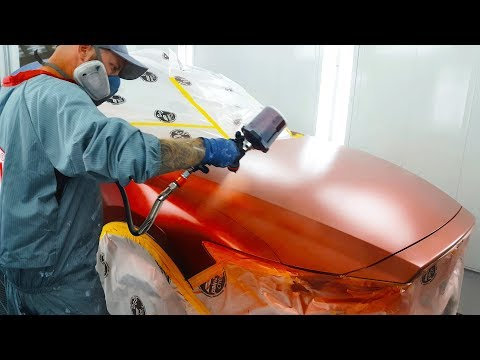 Spraying Soul Red Crystal Metallic - Mazda 46V Blend