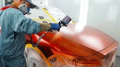 Spraying Soul Red Crystal Metallic - Mazda 46V Blend