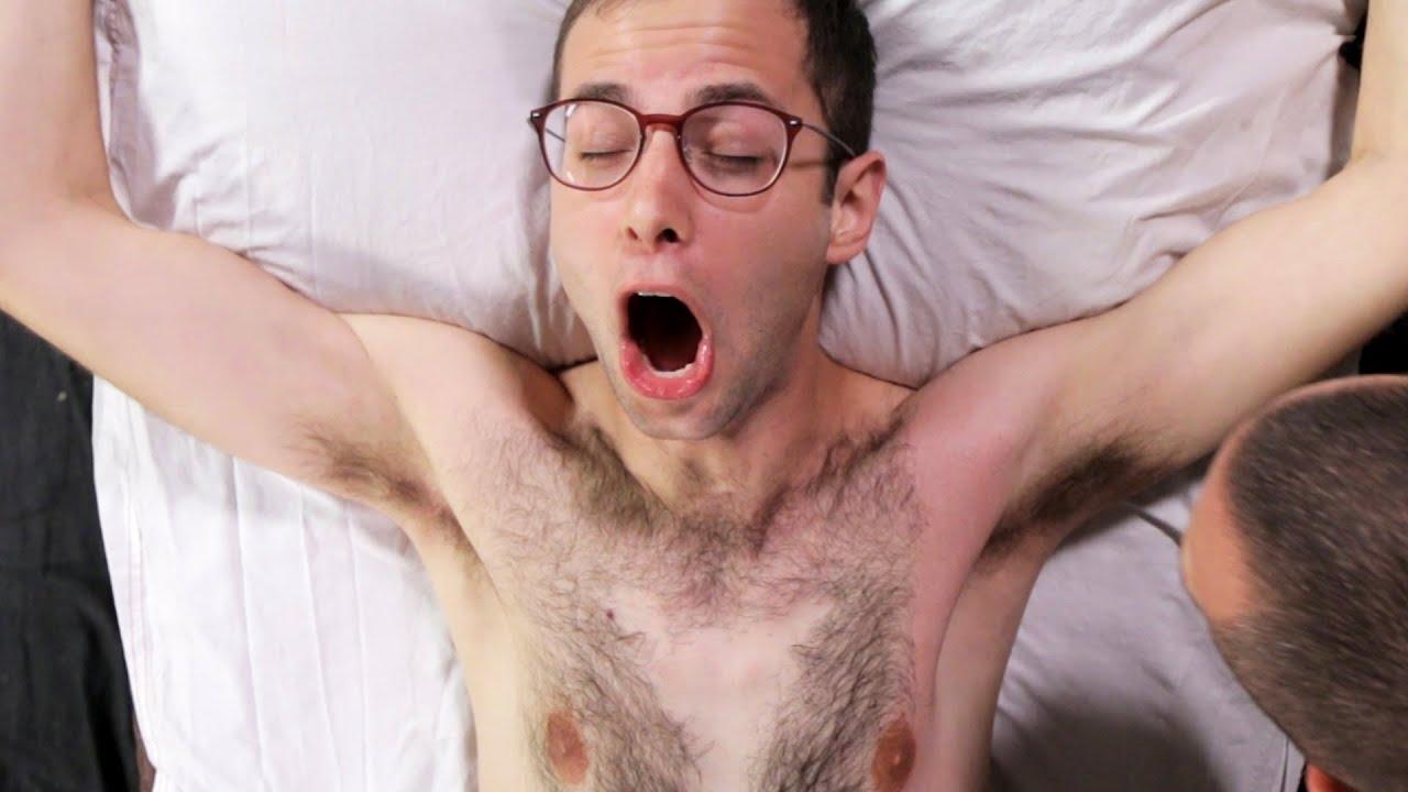 Man Getting A Brazilian Wax Video