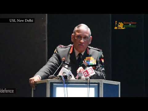 Army Chief Gen Bipin Rawat Spells Out Indian Army's Media Strategy