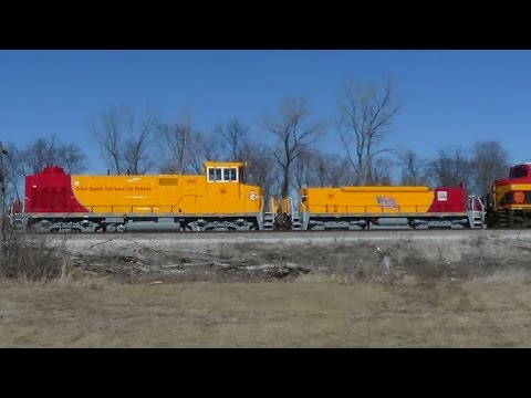 Brand New Crandic Slug and Mother Set on Canadian Pacific