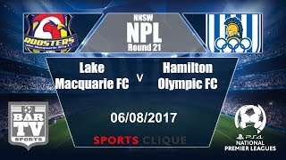Lake Macquarie vs Hamilton Olympic full match