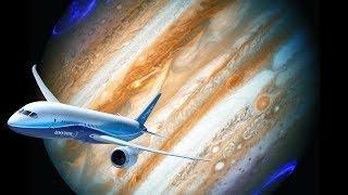 Cu Avionul in jurul planetelor din Sistemul Solar