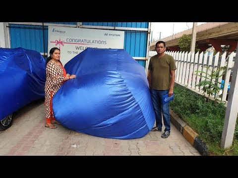 Taking Delivery of Hyundai Venue   What Color?   Uncovering,Exterior,Interior&Driving Video