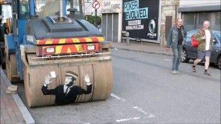 Banksy work/Работы Бэнкси.