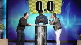 Ellen played one of her favorite games with Ricky. See who can beat the clock!