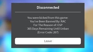 I got banned for hacking in Roblox Arsenal..