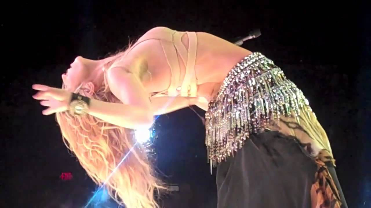 Shakira Tour 2010 Madison Square Garden Nyc Hd Youtube