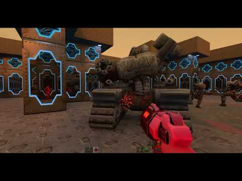 Quake 2 RTX   Killing Super Tank on HARD with Blaster Only  