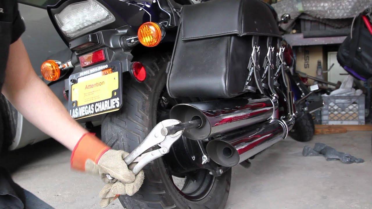 Suzuki Intruder Exhaust Mod