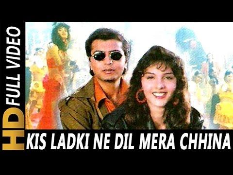 Kis Ladki Ne Dil Mera Chhina | Poornima, Abhijeet | Mafia 1996 Songs | Somy Ali, Jay Mehta
