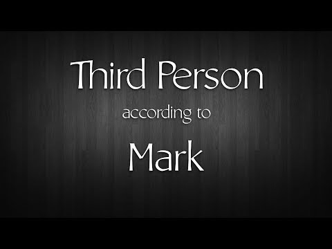 Third Person According to Mark - with Daniel Mesa