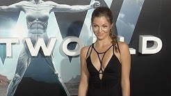 "Lili Simmons ""Westworld"" Premiere Red Carpet"