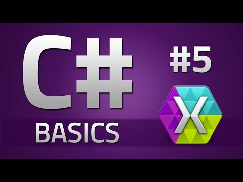 5. How to program in C# - SWITCH STATEMENTS - Beginner Tutorial