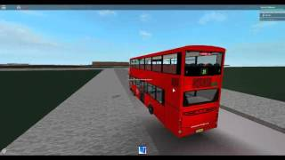 Roblox London Hackney & Limehouse Bussimulator Wright Gemini 2 Tower Transit Route 25 (Umleitung)
