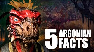 Skyrim - 5 Argonian Facts - Elder Scrolls Lore