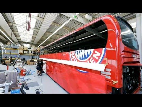 Der neue Dienstwagen der Bayernstars 2014