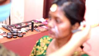 South Indian Bridal makeover| Wedding makeover| Engagement makeup | Wedding candid video