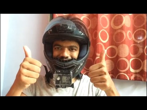 HOW TO MOUNT YOUR ACTION CAMERA ON A HELMET IN JUST 5 MINUTES?(SJCAM/GoPro) #10