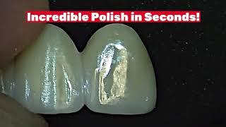 Polishing Zirconia is easy with All Ceramic Polishers