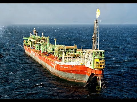 FPSO Berge Helene + offshore frog transfer