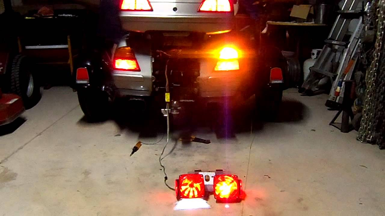 Ad On 5 to 4 trailer light harness problems - YouTube