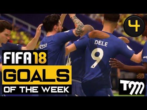 FIFA 18 - Top 10 Goals of the Week #4